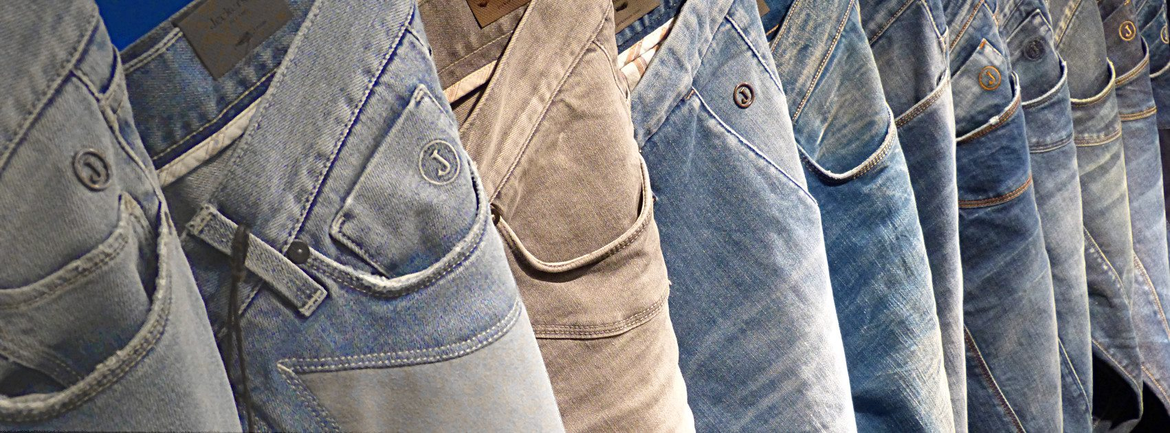 pantaloni jeans jeckerson made in italy