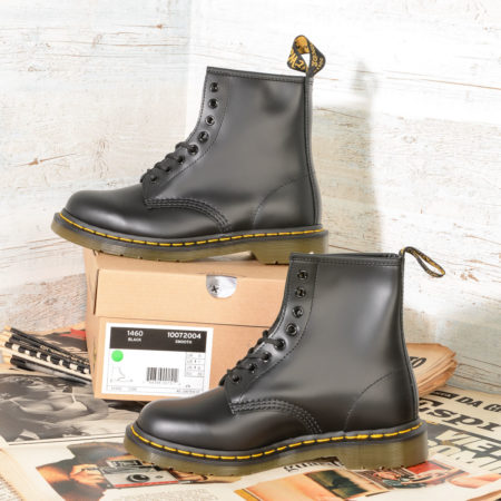 1460 DrMartens 10072004 Black Smooth