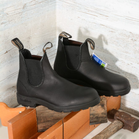 BLUNDSTONE 510 EL SIDE BOOT BLACK LEATHER (5)