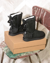 UGG Bailey Bow II Black Women 1016225