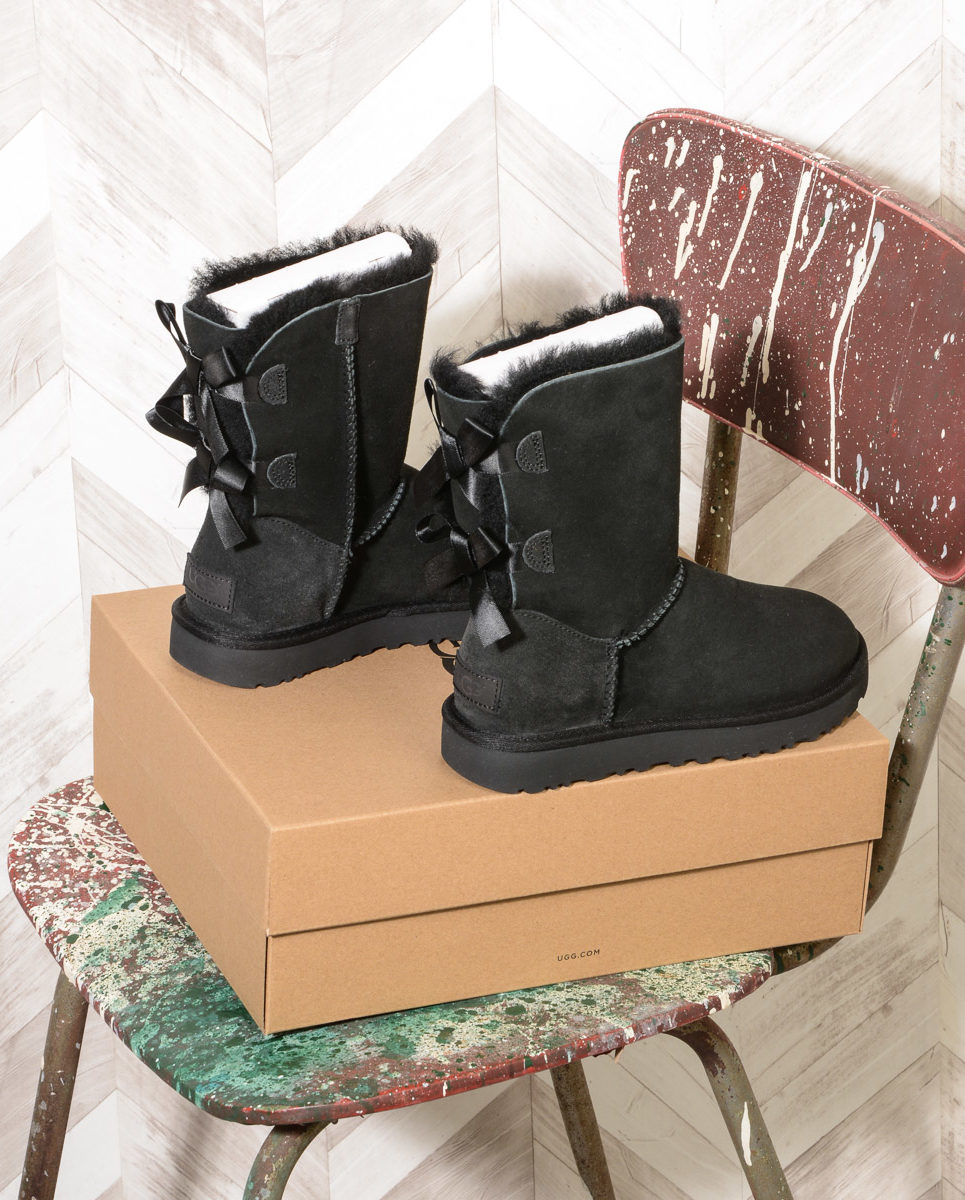 UGG Bailey Bow II Black Women 1016225 (1)
