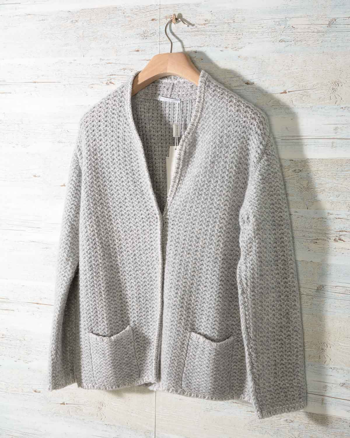 official photos 6a7d2 91cde Maglia Cardigan Donna Hubert Gasser in Cachemire 4 fili