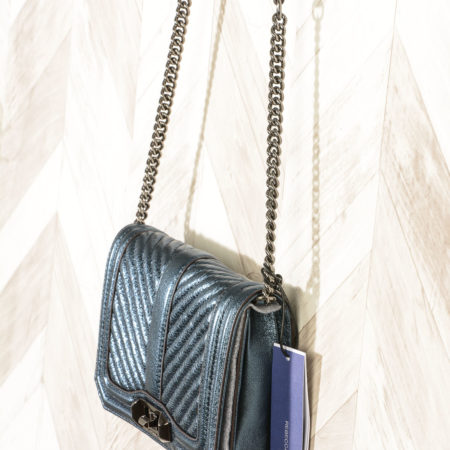HS18GMTX45 OCTAVIO 422 LEATHER HANDBAG CHEVRON QUILTED SMALL LOVE CRO Borsa Rebecca Minkoff
