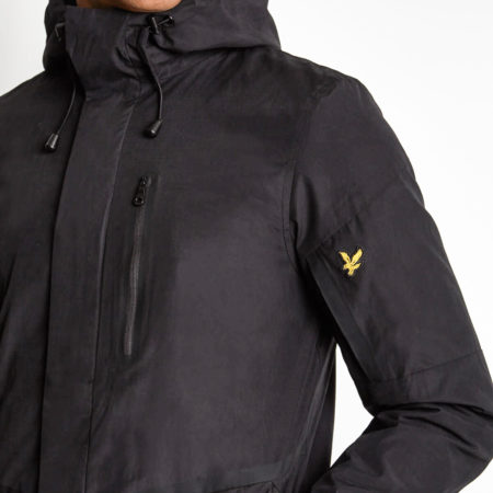 Casuals Parka Lyle & Scott True Black JK922V