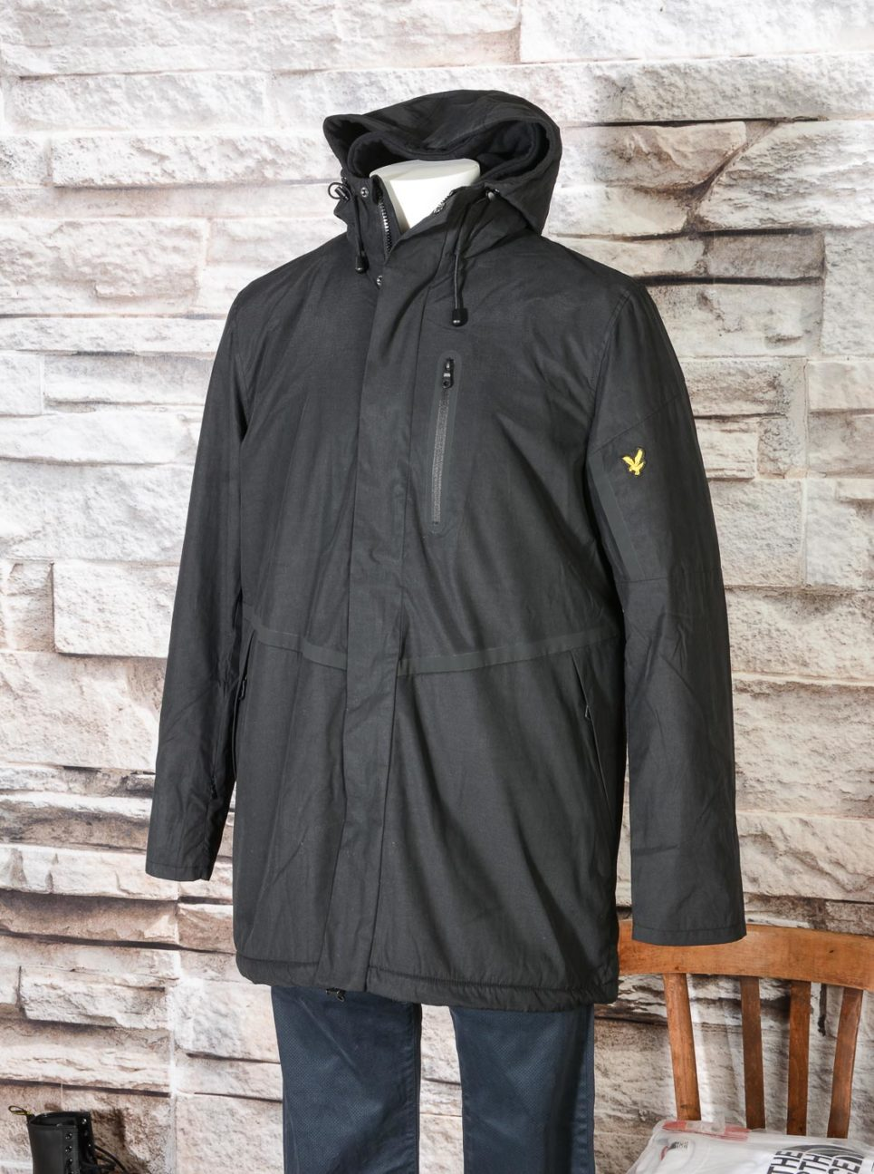 Casuals Parka Lyle & Scott True Black JK922V -8