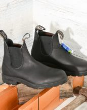 BLUNDSTONE 510 Donna Stivale nero BLACK LEATHER