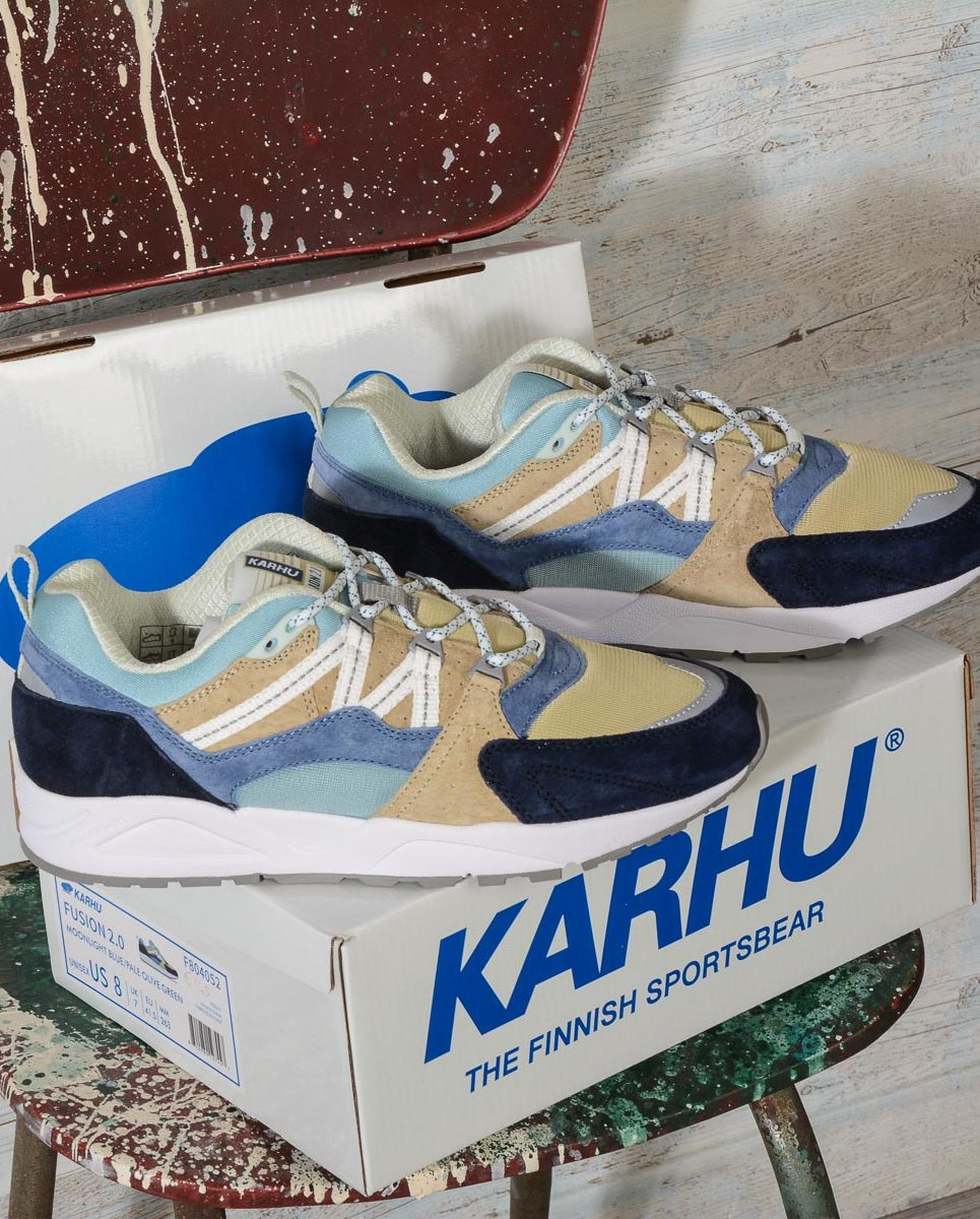 Karhu FUSION 2.0 MONTHLESS PACK MOONLIGHT BLUE-PALE OLIVE GREEN F804052 -7