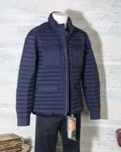 Field Jacket Uomo Save The Duck D3335M MITE8 GIUBBOTTO Navy Blue
