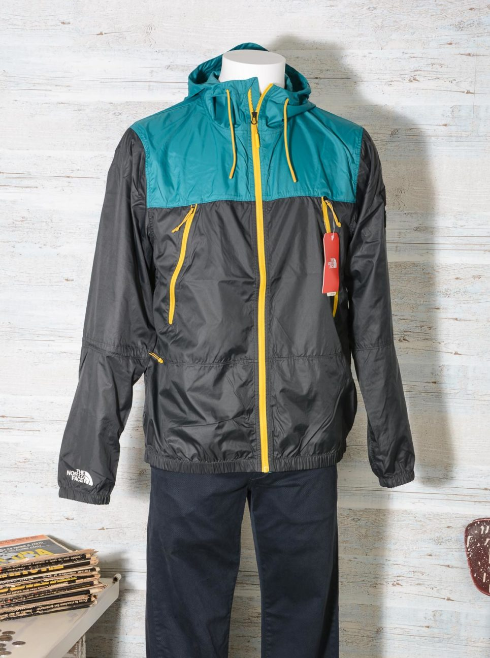 GIACCA 1990 SEASONAL MOUNTAIN The North Face ASPHALT GREY – EVERGLADE T92S4ZB9Y -2