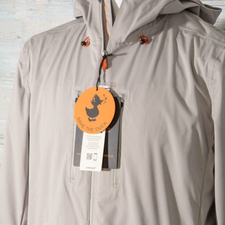 Giubbino uomo Save The Duck mezza stagione D3571M BARK8 00030 Ice Grey