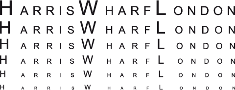 harris wharf london logo