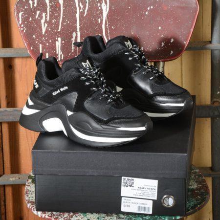 Sneakers Naked Wolfe Black Black Track Double Black