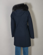 Winter Long Lady Fur T W19501FT Parka Donna RRD con Pelliccia colore 60 Blue Black
