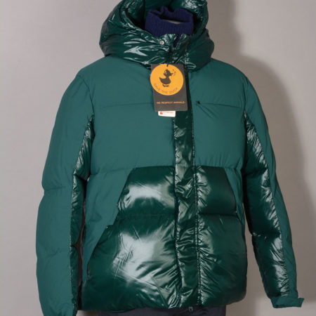 Giubbotto Piumino uomo Save The Duck D3790U LUMA9 colore verde 01475 Alpine Green