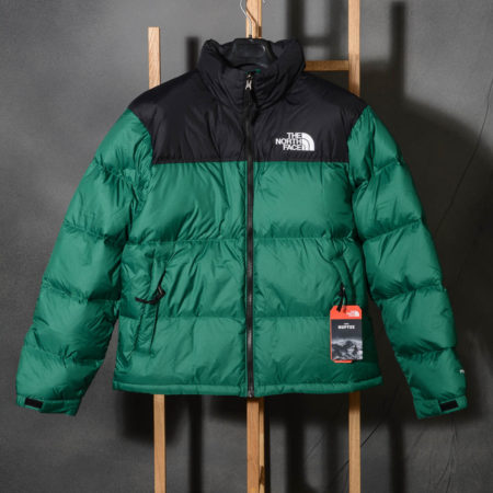 Giacca uomo The North Face M 1996 RETRO NUPTSE JACKET Verde EVERGREEN NF0A3C8DNL1