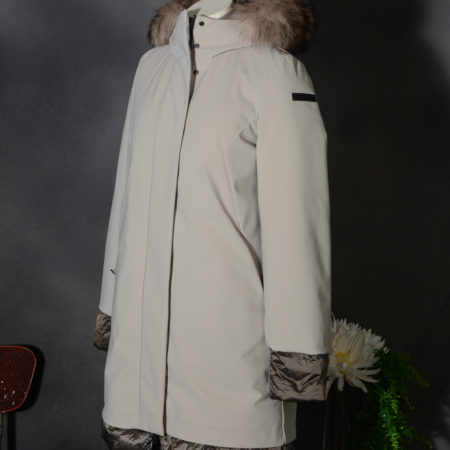 RRD WINTER LIGHT LONG LADY FUR W20505FT 83 - Parka donna RRD con pelliccia