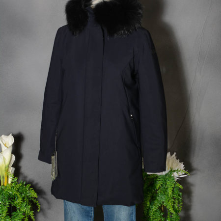 RRD donna WINTER TRENCH LADY FUR - NERO W20502FT 10