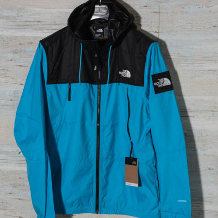 The North Face BLACK BOX 1990 WIND JACKET NF0A55BRD7R1 MERIDIAN BLUE